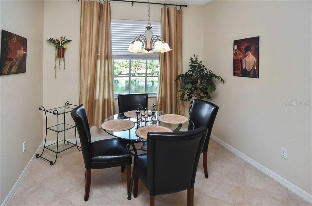 Dining room - Condo for sale at 940 Cooper St #202, Venice, FL 34285 - MLS Number is N6101184