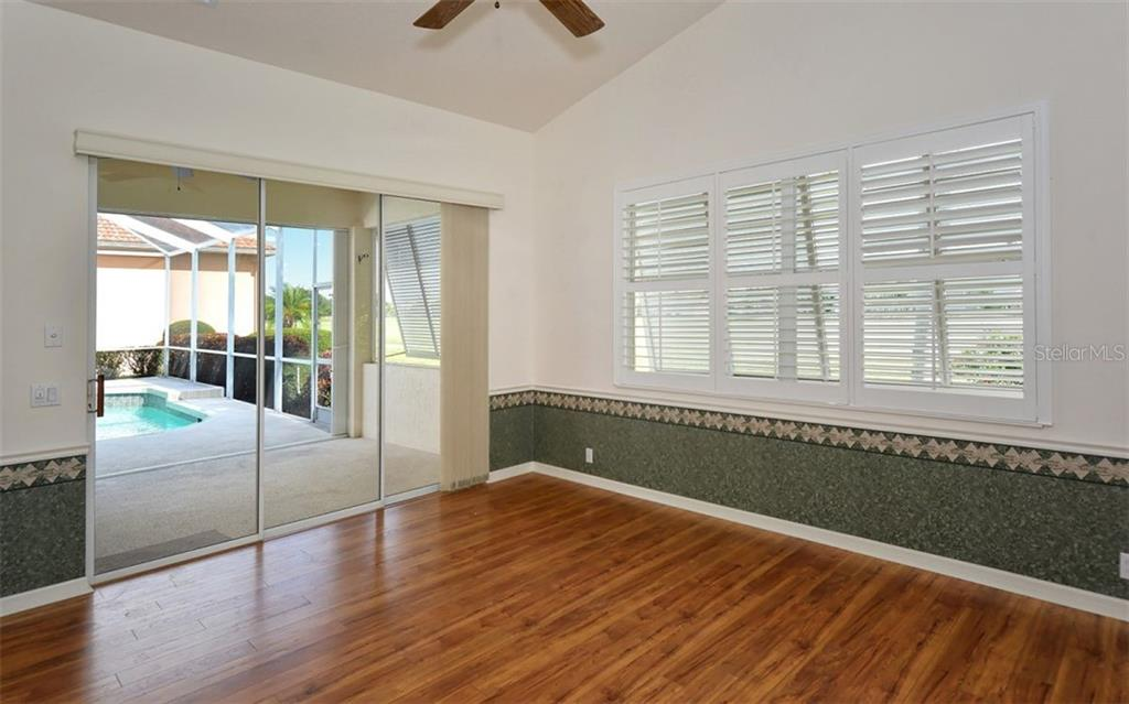 Bonus room - to cabana, lanai - Single Family Home for sale at 969 Chickadee Dr, Venice, FL 34285 - MLS Number is N6102722