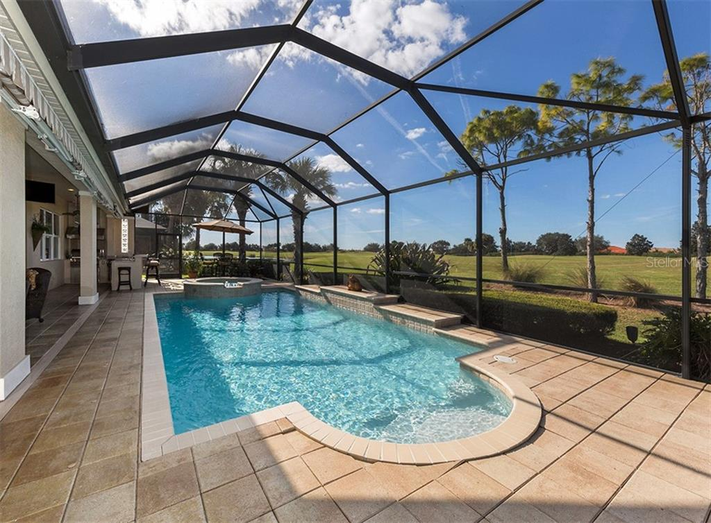 Pool - Single Family Home for sale at 110 Martellago Dr, North Venice, FL 34275 - MLS Number is N6103159