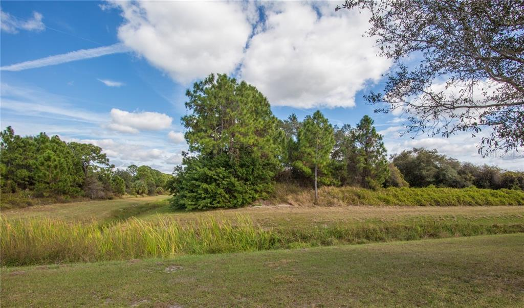 Greenbelt view and additional lot - Single Family Home for sale at 6612 Deer Run Rd, North Port, FL 34291 - MLS Number is N6103231