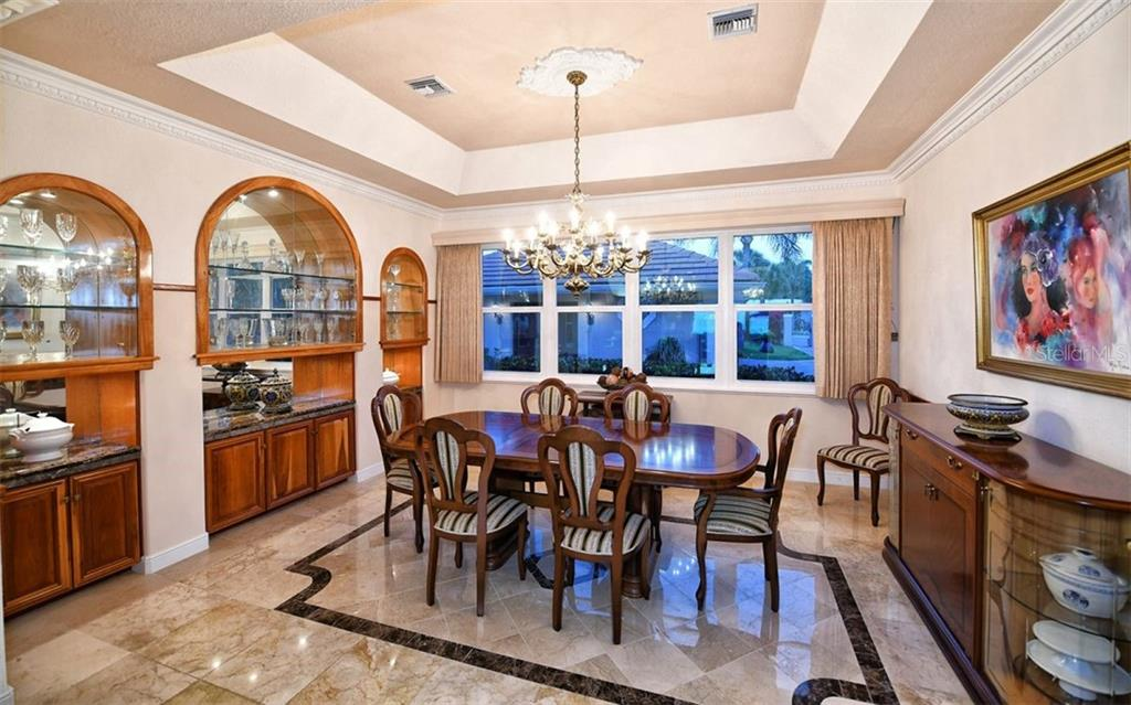Dining room - Single Family Home for sale at 412 Hunter Dr, Venice, FL 34285 - MLS Number is N6105563
