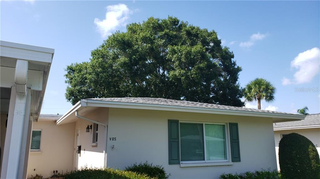 The front of the house - Villa for sale at 85 Strathmore Blvd #villa8, Sarasota, FL 34233 - MLS Number is N6106092