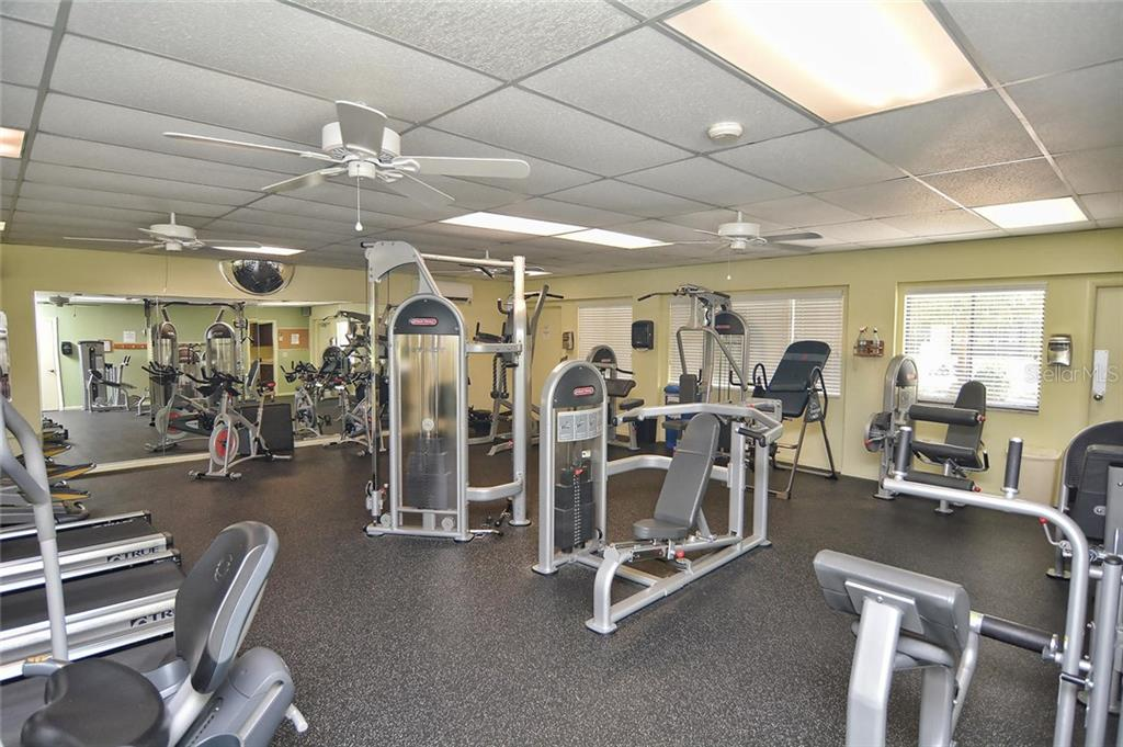 Fitness - Condo for sale at 626 Bird Bay Dr S #104, Venice, FL 34285 - MLS Number is N6107935