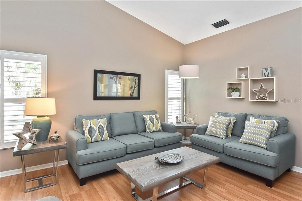 Living room - Condo for sale at 817 Montrose Dr #204, Venice, FL 34293 - MLS Number is N6108125