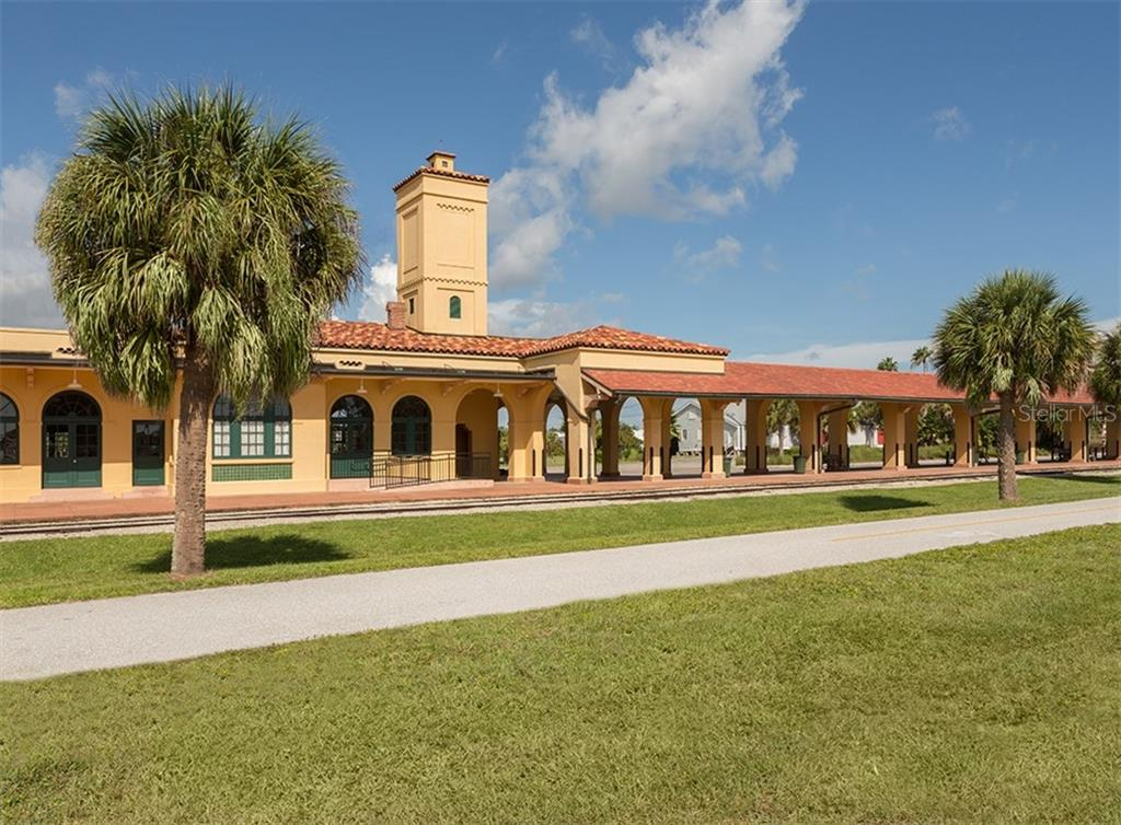 Venice Train Depot - Single Family Home for sale at 500 Harbor Dr S, Venice, FL 34285 - MLS Number is N6108518