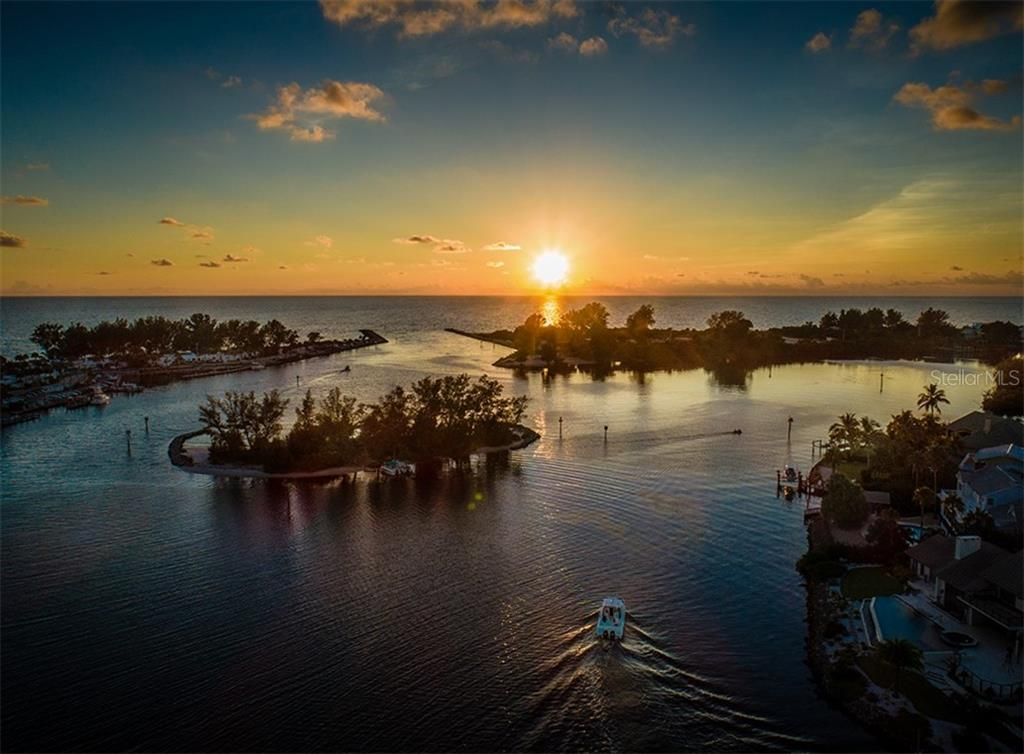 Snake Island at sunset - Single Family Home for sale at 2208 Casey Key Rd, Nokomis, FL 34275 - MLS Number is N6110959