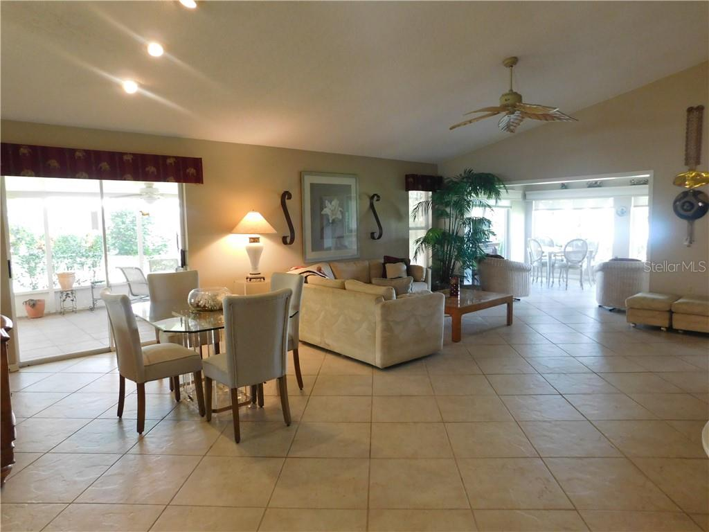 Living / Dining Room - Villa for sale at 743 Harrington Lake Dr N #29, Venice, FL 34293 - MLS Number is N6111290