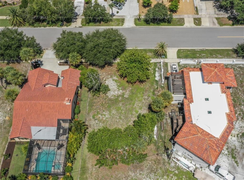 Aerial of Ponce de Leon - Vacant Land for sale at 305 Ponce De Leon Ave, Venice, FL 34285 - MLS Number is N6111554