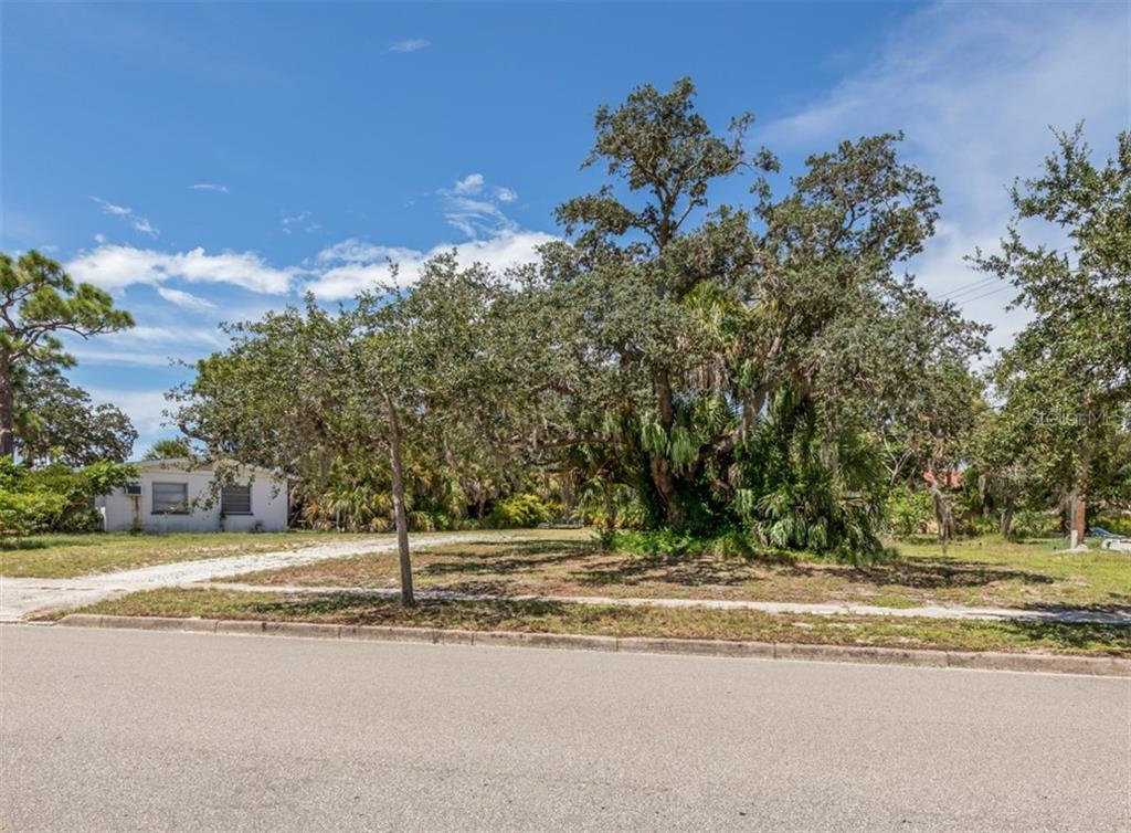 Front elevation from Nassau St S - Vacant Land for sale at 230 Nassau St S, Venice, FL 34285 - MLS Number is N6111555