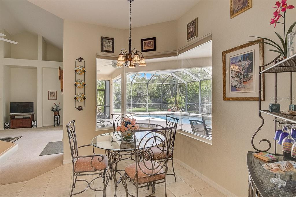 Dinette - Single Family Home for sale at 1031 Scherer Way, Osprey, FL 34229 - MLS Number is N6111839