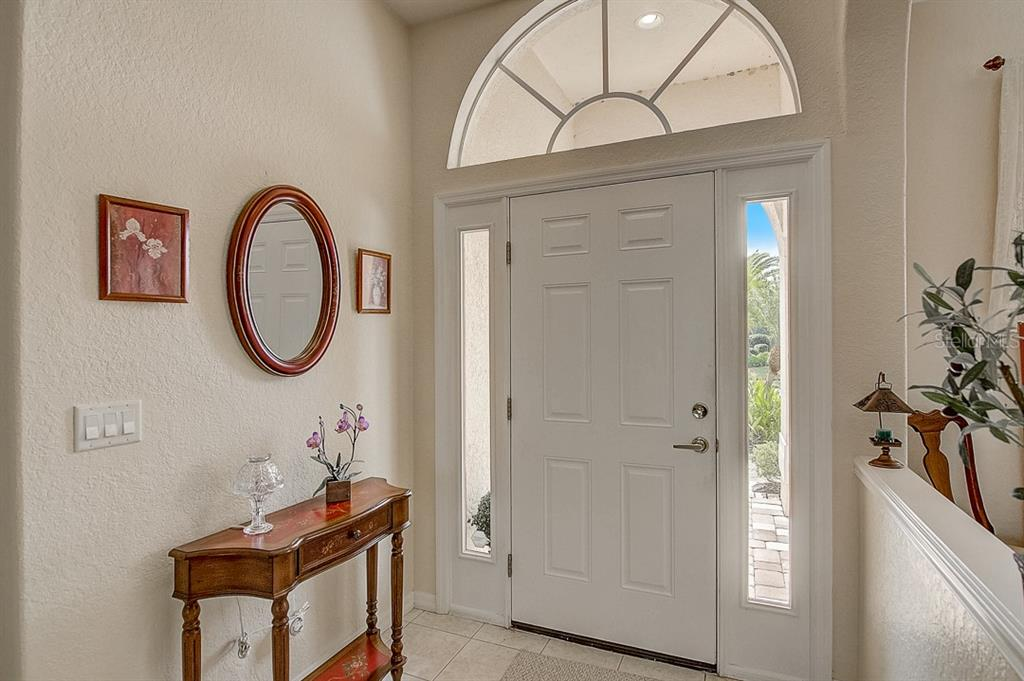 Foyer - Single Family Home for sale at 1031 Scherer Way, Osprey, FL 34229 - MLS Number is N6111839