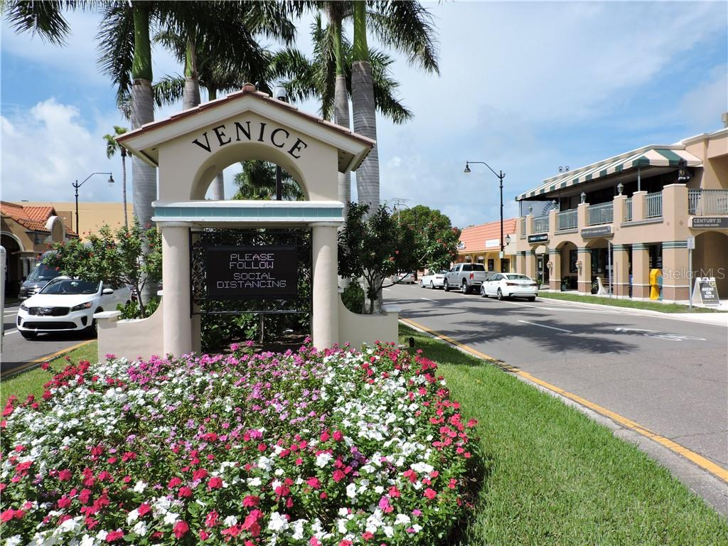 Venice Island with its many shops and entertainment - Condo for sale at 1041 Capri Isles Blvd #121, Venice, FL 34292 - MLS Number is N6112042