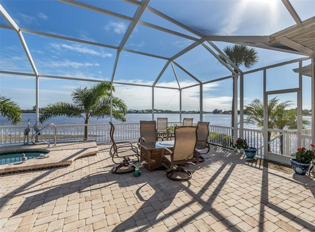 Pool area - Single Family Home for sale at 453 Anchorage Dr, Nokomis, FL 34275 - MLS Number is N6112707