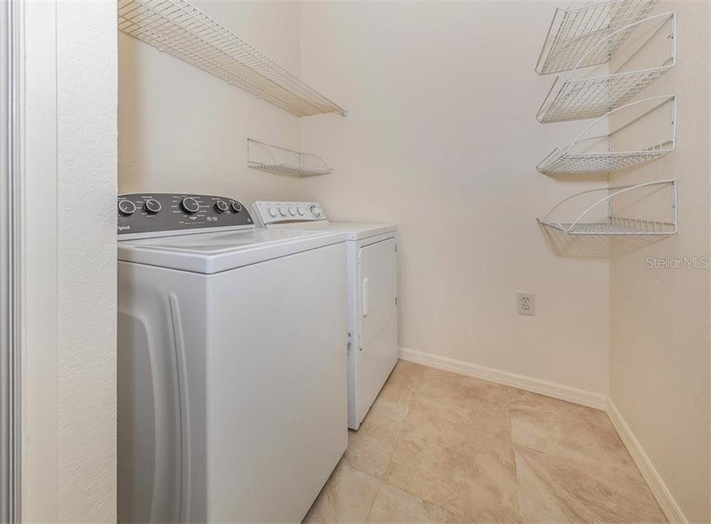 Laundry. - Condo for sale at 5180 Northridge Rd #103, Sarasota, FL 34238 - MLS Number is N6113134