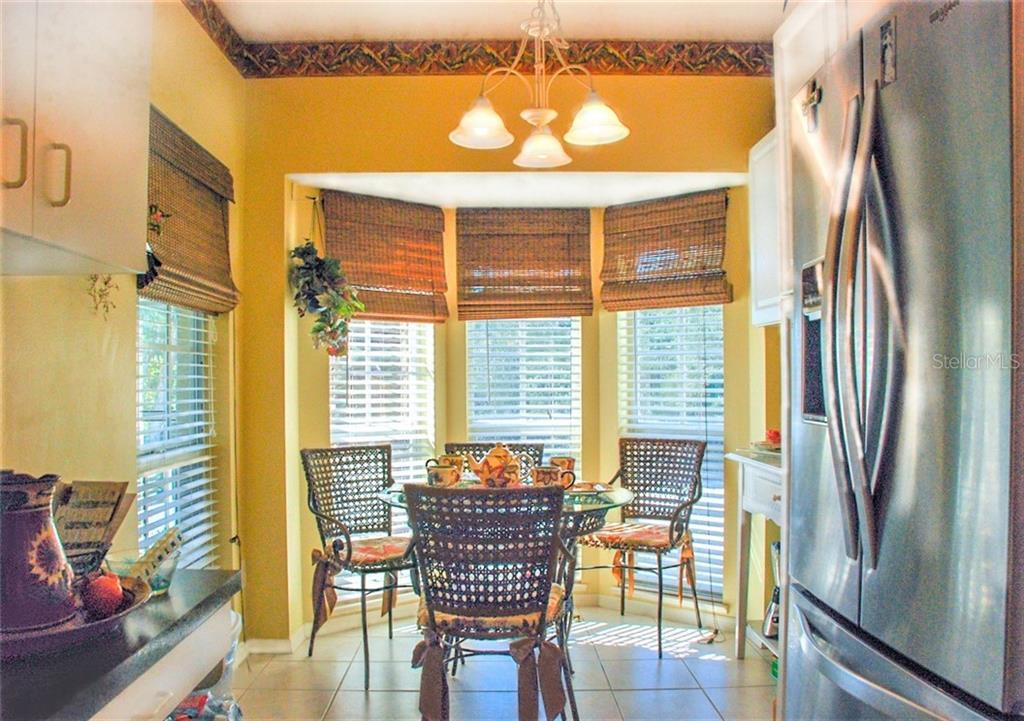 Breakfast nook - Condo for sale at 406 Laurel Lake Dr #203, Venice, FL 34292 - MLS Number is N6113915