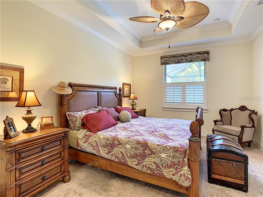 Master bedroom - Single Family Home for sale at 108 Maraviya Blvd, North Venice, FL 34275 - MLS Number is N6113946