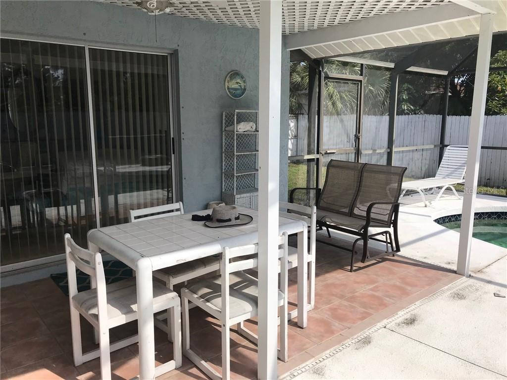Great shaded area for your outside enjoyment - Single Family Home for sale at 428 Briarwood Rd, Venice, FL 34293 - MLS Number is N6114917