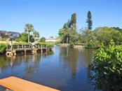 Beautiful view from pvt dock - Villa for sale at 132 Inlets Blvd #132, Nokomis, FL 34275 - MLS Number is N5914693