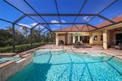 Pool & deck space. - Single Family Home for sale at 190 Portofino Dr, North Venice, FL 34275 - MLS Number is N5915077