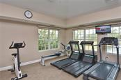 Fitness Room at Clubhouse - Single Family Home for sale at 323 Marsh Creek Rd, Venice, FL 34292 - MLS Number is N6100802