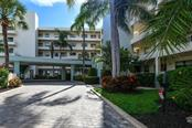BUILDING F ENTRANCE - Condo for sale at 5740 Midnight Pass Rd #505 F, Sarasota, FL 34242 - MLS Number is N6102195