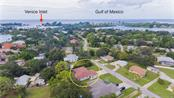 Aerial - Single Family Home for sale at 409 Palm Ave, Nokomis, FL 34275 - MLS Number is N6102313
