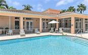 Community pool, clubhouse - Single Family Home for sale at 226 Rio Terra, Venice, FL 34285 - MLS Number is N6107320