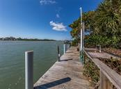 Dock, water, electric, davit - Single Family Home for sale at 915 Bayshore Rd, Nokomis, FL 34275 - MLS Number is N6109471