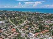 Aerial of Gulf of Mexico and Blalock Park - Vacant Land for sale at 305 Ponce De Leon Ave, Venice, FL 34285 - MLS Number is N6111554