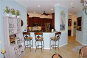 Breakfast bar, kitchen - Villa for sale at 20117 Tesoro Dr, Venice, FL 34293 - MLS Number is N6111641