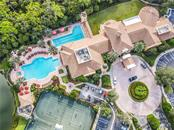 Aerial of clubhouse and amenities - Single Family Home for sale at 154 Rimini Way, North Venice, FL 34275 - MLS Number is N6112459
