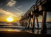 Venice Fishing Pier at sunset - Single Family Home for sale at 416 Pensacola Rd, Venice, FL 34285 - MLS Number is N6112676