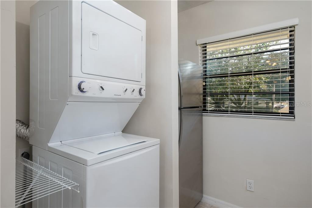 Laundry - Condo for sale at 7070 Fairway Bend Ln #169, Sarasota, FL 34243 - MLS Number is W7807848