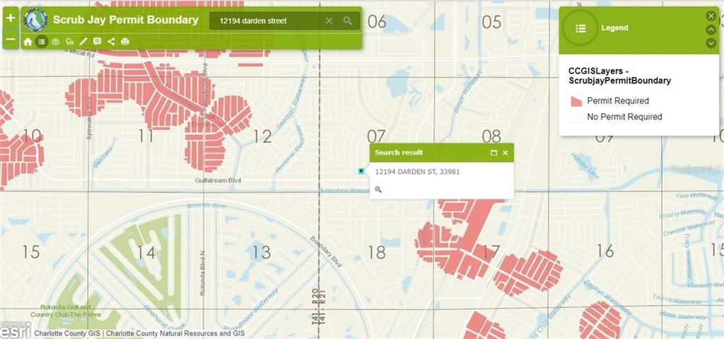 Street Map Port Charlotte Florida.12194 Darden St Port Charlotte Fl 33981 Mls C7251257