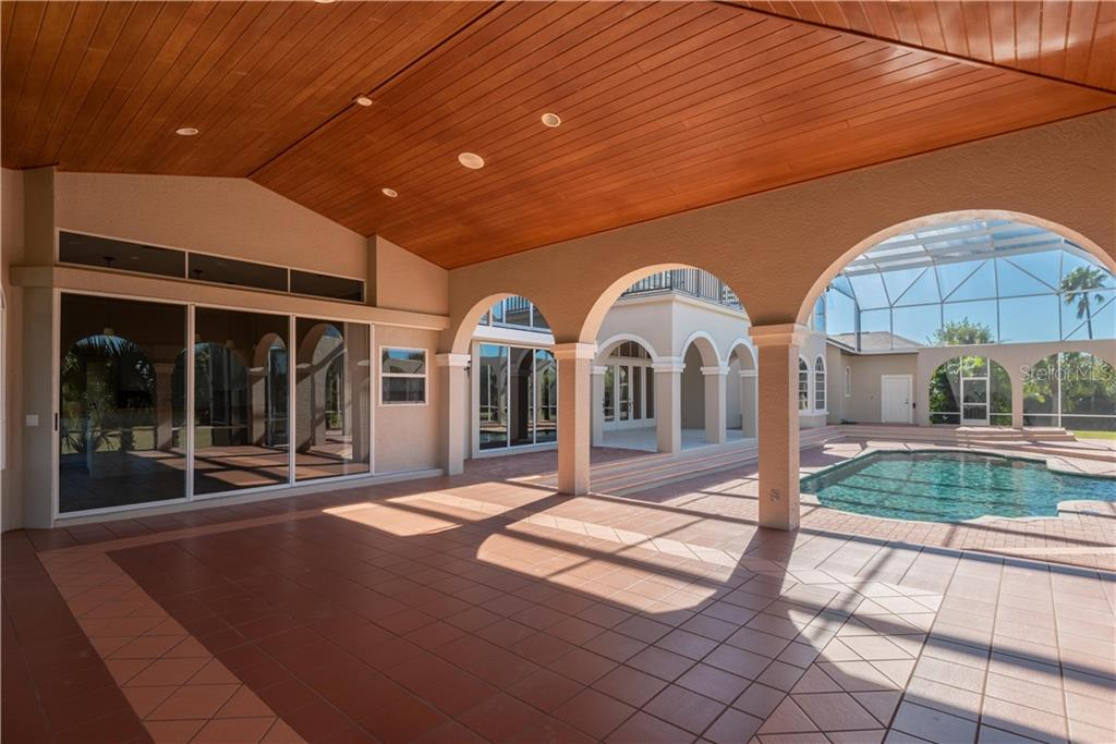SPACIOUS LANAI AND POOL AREA - Single Family Home for sale at 13000 Windcrest Dr, Port Charlotte, FL 33953 - MLS Number is C7410459