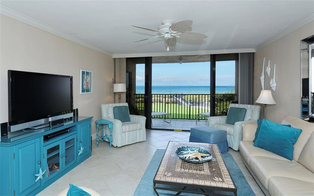 Gulf views from balcony - Condo for sale at 6480 Midnight Pass Rd #217, Sarasota, FL 34242 - MLS Number is A4202790