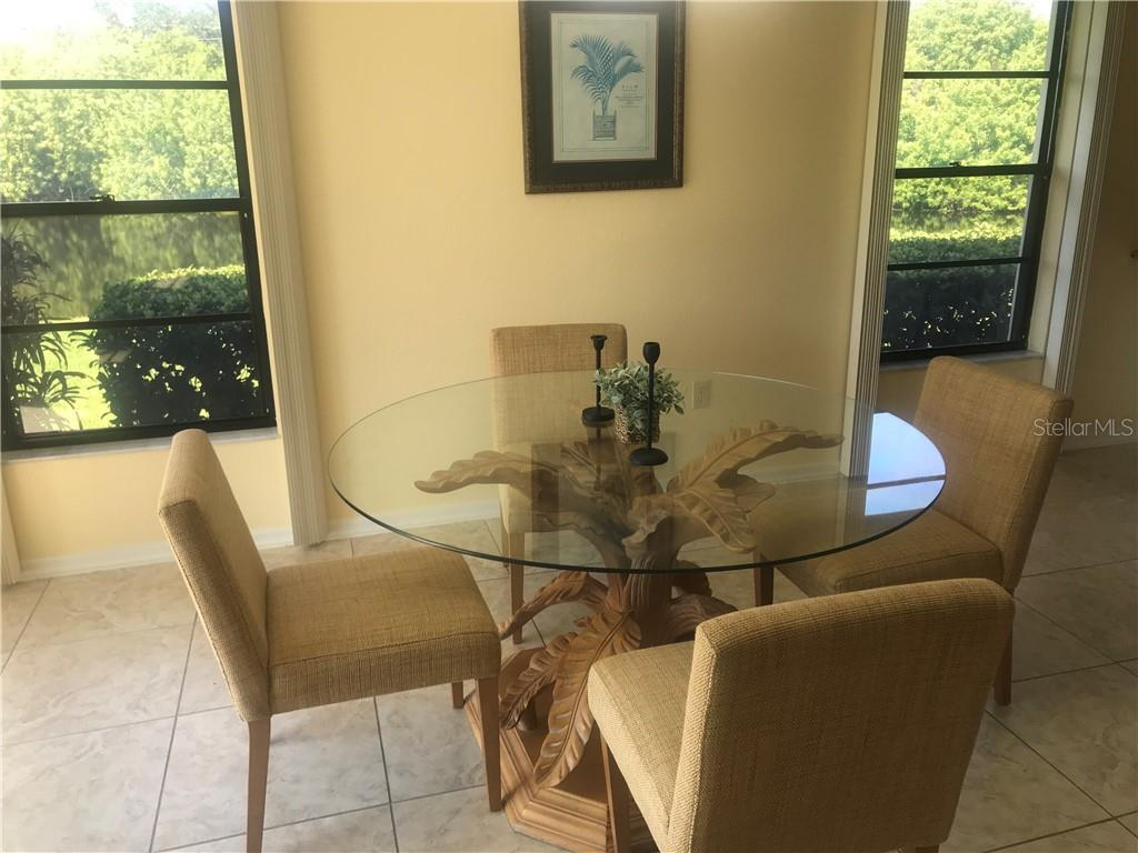 Dining with a view! - Villa for sale at 3606 Gleneagle Dr #9a, Sarasota, FL 34238 - MLS Number is A4403597