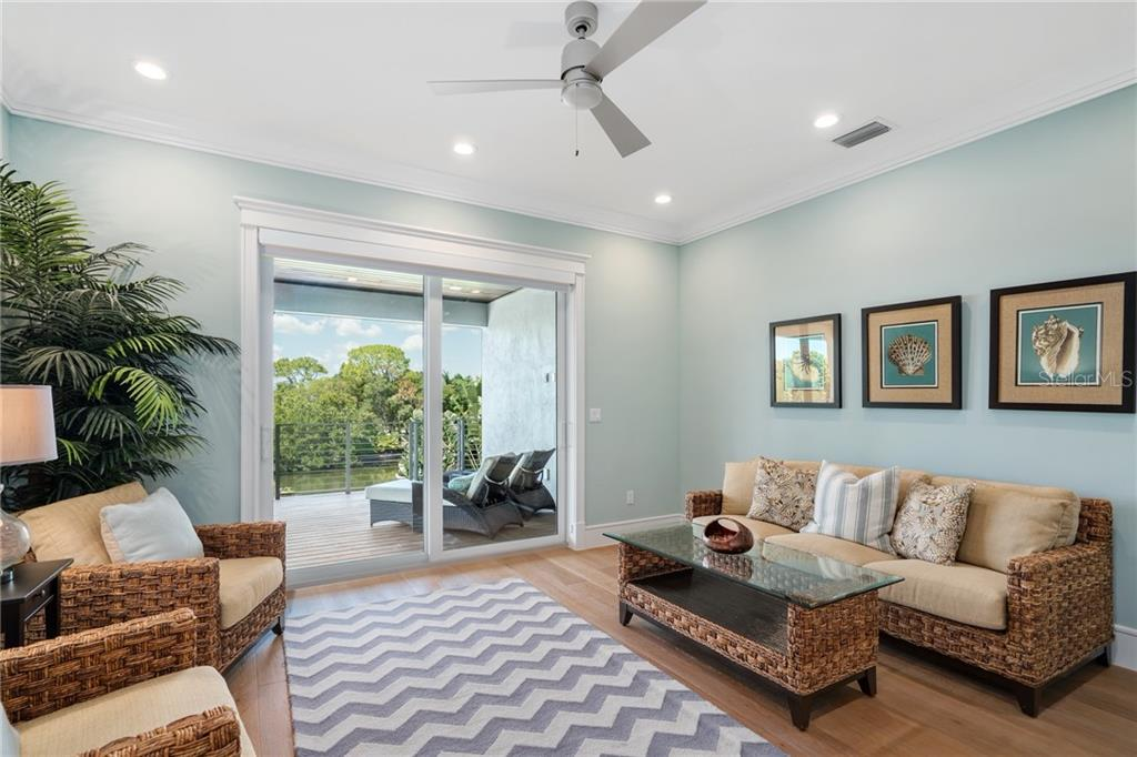Upstairs Gathering Room - Single Family Home for sale at 1545 Mallard Ln, Sarasota, FL 34239 - MLS Number is A4415376