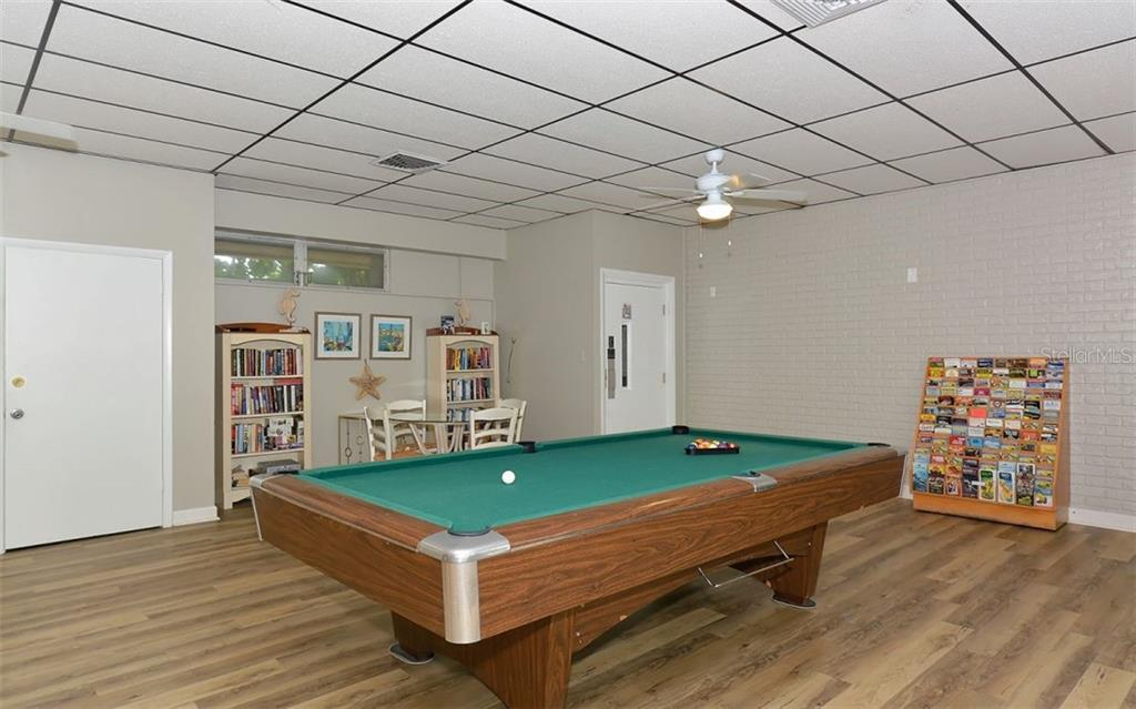 Billiards. - Condo for sale at 797 Beach Rd #215, Sarasota, FL 34242 - MLS Number is A4430524