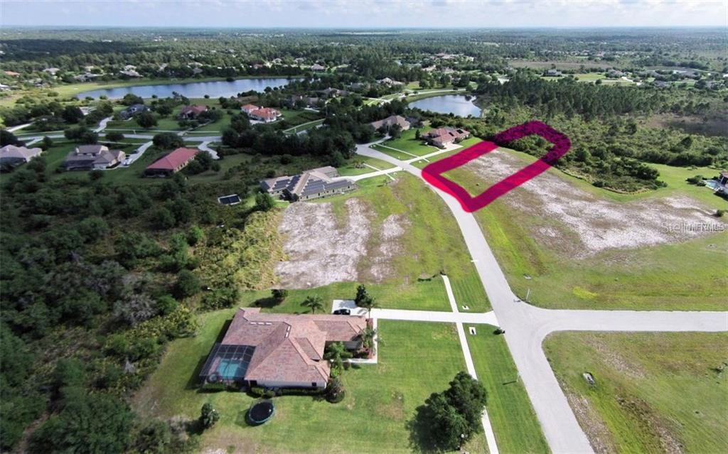 The homesite has fill dirt in place, however, builder will want to add for final grade.  There is a large buffer in the back of the home, giving your backyard peace and quiet. - Vacant Land for sale at 22510 Morning Glory Cir, Bradenton, FL 34202 - MLS Number is A4430942