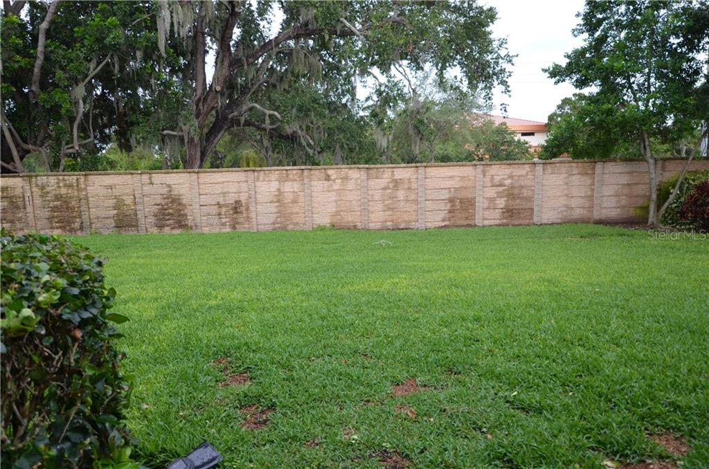 Big backyard for a pool or to entertain. - Single Family Home for sale at 3632 Summerwind Cir, Bradenton, FL 34209 - MLS Number is A4438762