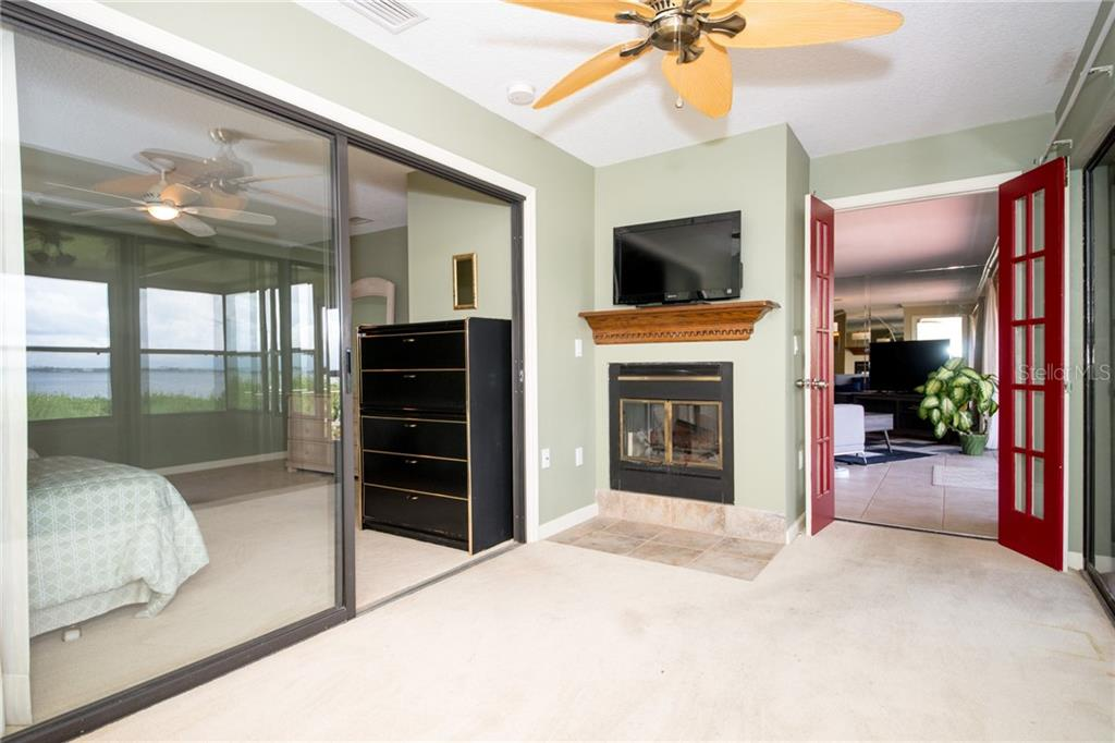 Enjoy your fireplace and spectacular view from the bonus room. - Condo for sale at 4001 Catalina Dr, Bradenton, FL 34210 - MLS Number is A4443126