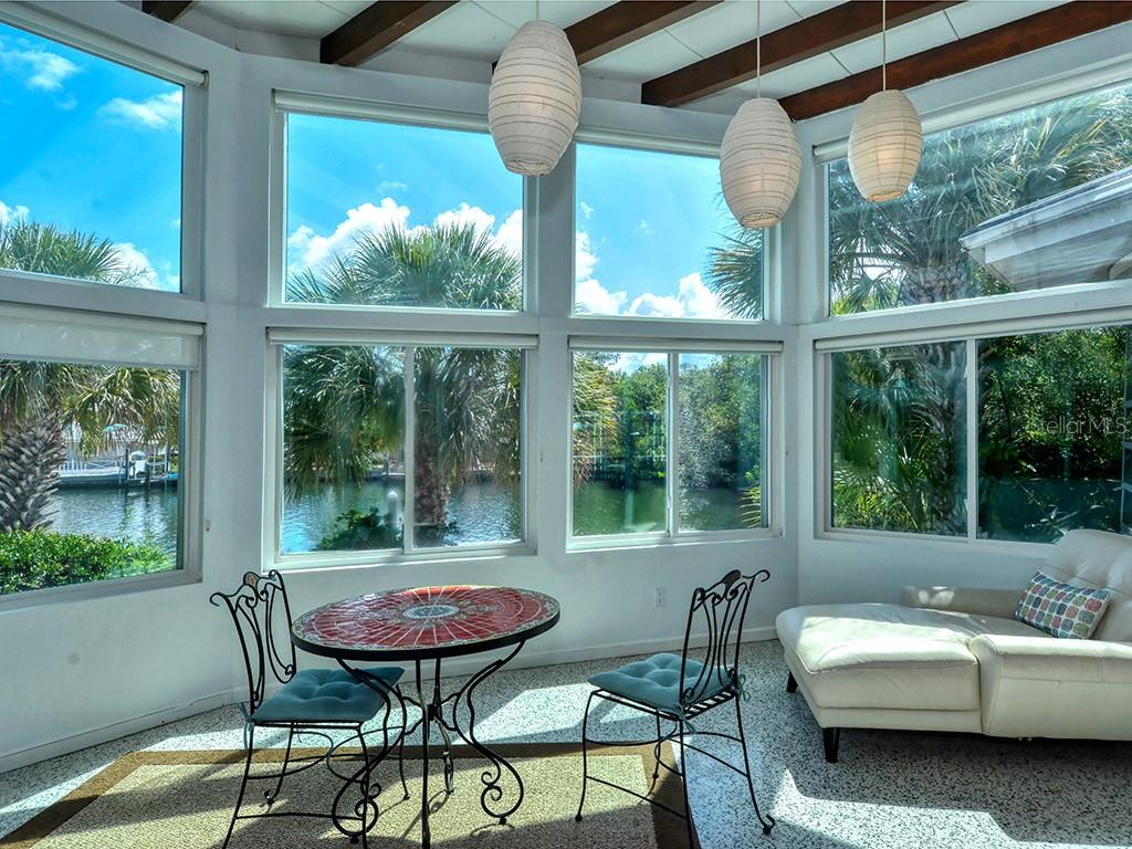 Bright & Sunny Florida Room - Single Family Home for sale at 225 John Ringling Blvd, Sarasota, FL 34236 - MLS Number is A4443640