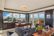 Penthouse Office with 360 degree views of Ocean & Blackburn Bay - Single Family Home for sale at 1492 Casey Key Rd, Nokomis, FL 34275 - MLS Number is A4189751