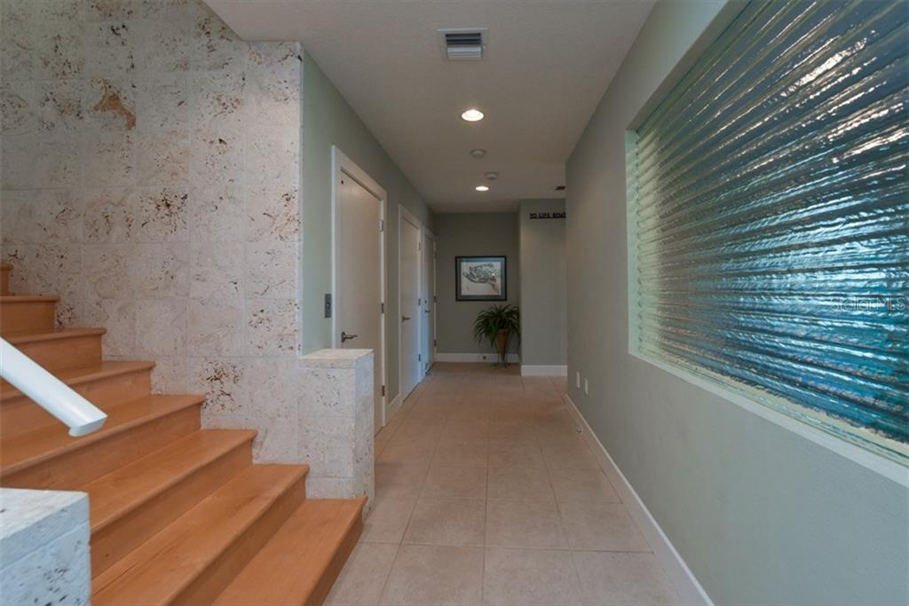Lower Foyer - Single Family Home for sale at 525 Bayview Pkwy, Nokomis, FL 34275 - MLS Number is N5912985