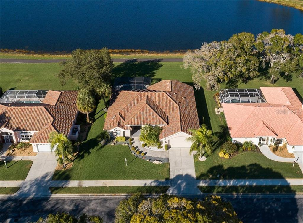 Aerial - Single Family Home for sale at 515 Park Estates Sq, Venice, FL 34293 - MLS Number is N6103193