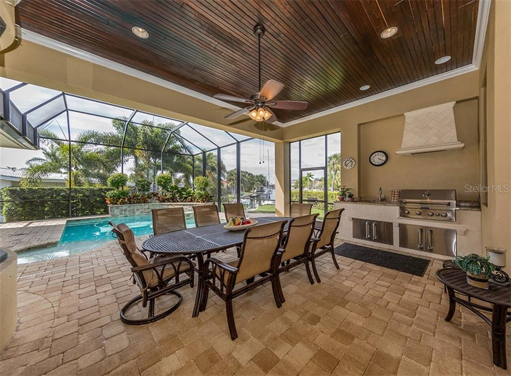 Lanai tongue and groove ceiling, bayview - Single Family Home for sale at 1980 W Marion Ave, Punta Gorda, FL 33950 - MLS Number is N6104995