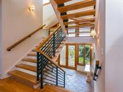 Staircase/foyer - Single Family Home for sale at 743 Eagle Point Dr, Venice, FL 34285 - MLS Number is N6101092